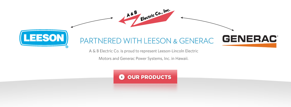 Partnered with Leeson and Generac
